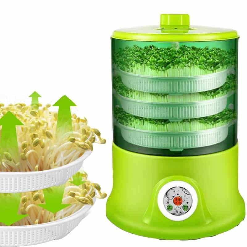 Kitchen Tools: Sprout Maker Seeds Growing Machine